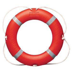 SOLAS lifebuoy orange 2.5kg for marine survey