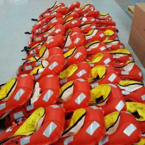 Viking SOLAS lifejacket servicing