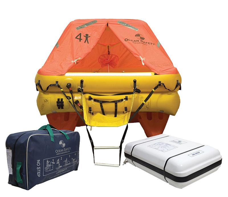 Ocean Safety ISO 9650 liferaft   Liferaft sales Australia