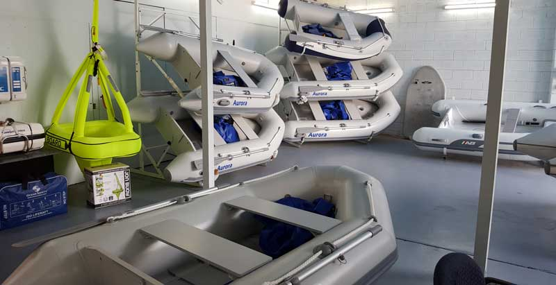 Inflatable boats in Marinesafe Australia