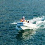 AB Lammina 8AL inflatable RIB motoring