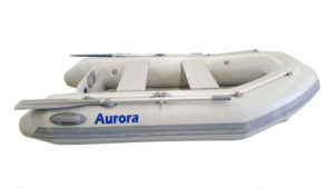 Aurora 240 air floor inflatable boat