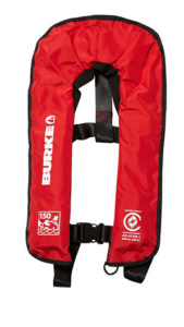Burke inflatable standard lifejacket