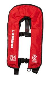 Burke inflatable standard lifejacket