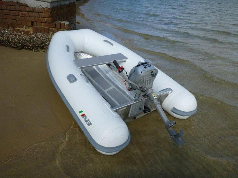 AB Lammina rigid hull tender | Liferaft sales Australia