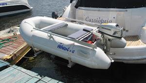 Aurora Master 260 inflatable boat