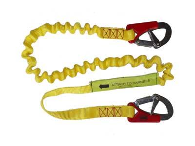 Lifejacket safety tether 2 hook