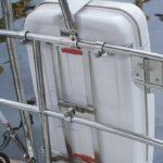 Viking stainless steel liferaft cradle