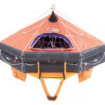 Viking 25DKF+ davit launch SOLAS liferaft