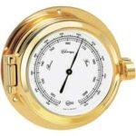 Brass barometer for marine survey