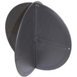 Black ball shapes for marine survey equipment