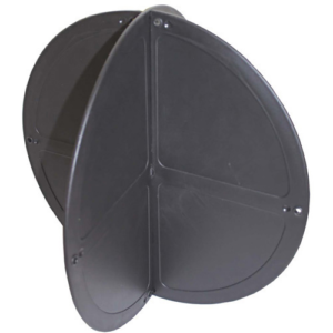 Black ball shapes for marine survey equipment