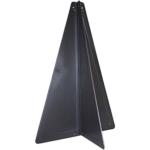 Black cone shape for marine survey equipment