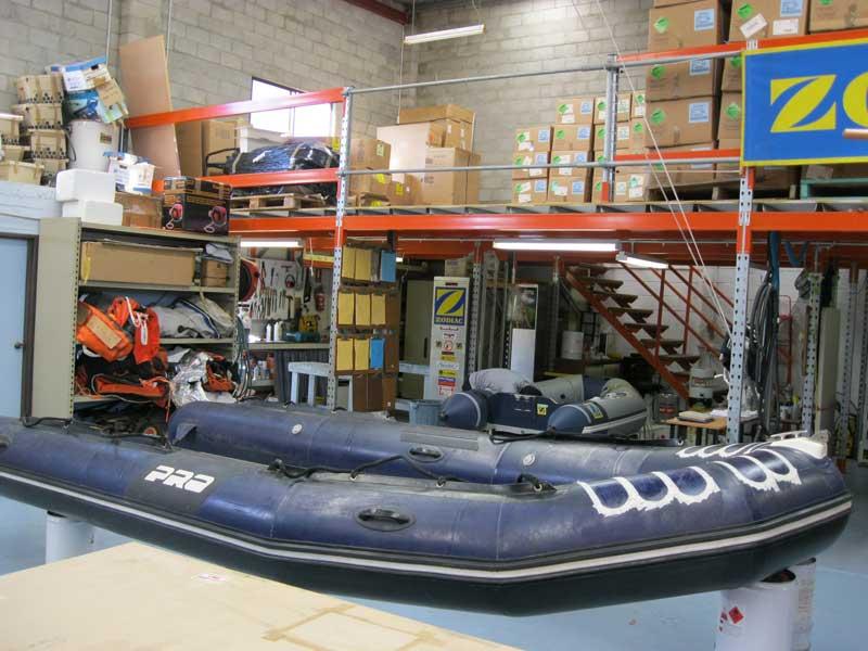 Inflatable boat repairs | Liferaft sales Australia