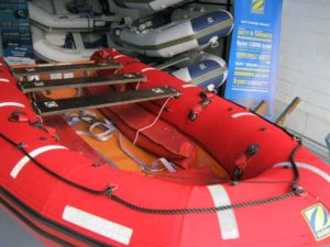 SOLAS rescue boat finished with repairs