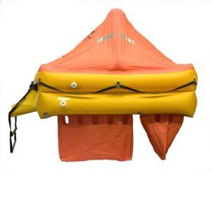 Ocean Safety Ultralite liferaft sideview