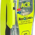 ACR RescQlink + PLB with inbuilt GPS side view