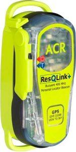 ACR RescQlink + PLB with inbuilt GPS side view