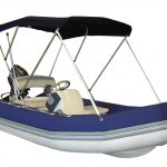 Inflatable boat tube covers in Blue