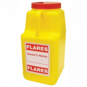 Flare container