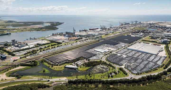 Port of Brisbane 30 minutes