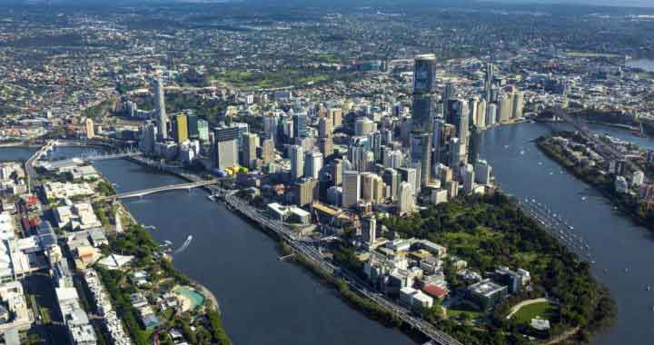 Brisbane City 20 minutes