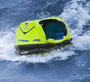 Viking Rescue pro liferaft