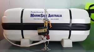 Ocean ISO liferaft deck chocks