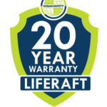 Ocean Safety liferaft warranty logo