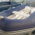 Blue Inflatable boat tube covers