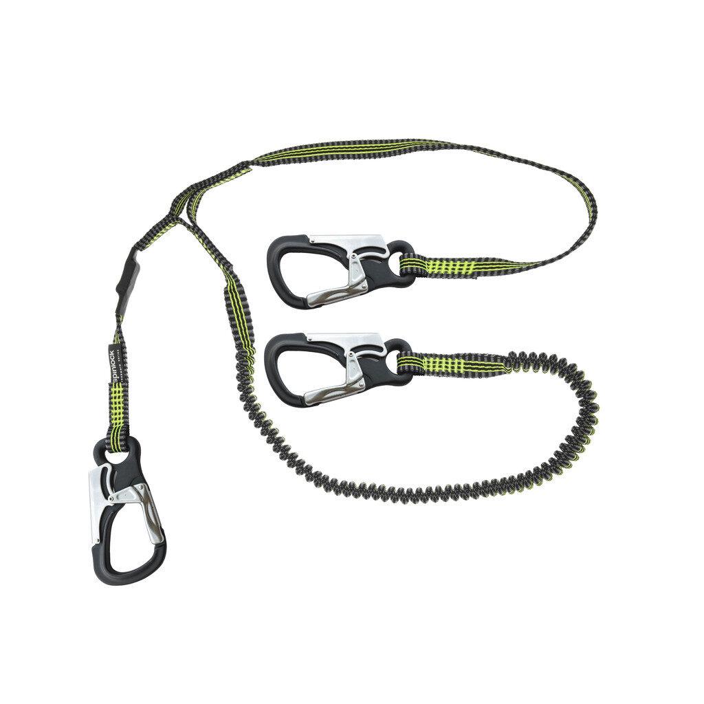 Spinlock safety line three hook elastiziced